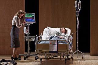 Arlene Rolph as Maria Gail Pearson as Antonio photo credit Clive Barda