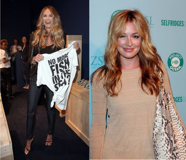 SELFRIDGES Project Ocean launch party - Cat Deeley1